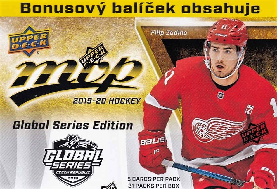 Box hokejových karet 2019-20 MVP Hockey Blaster Box GLOBAL SERIES