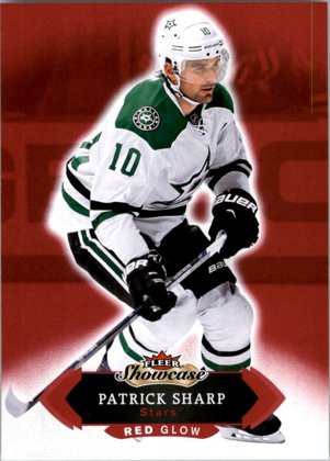 hokejová karta Patrick Sharp Fleer Showcase 2016-17 Red Glove