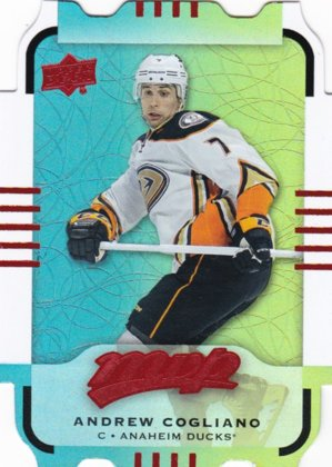 hokejová karta Andrew Cogliano Upper Deck MVP 2015-16 COLORS AND CONTOURS