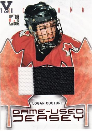 Hokejová karta Logan Couture In the Game - Game Used Jersey