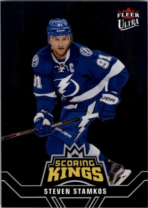 Hokejová karta Steven Stamkos Flair Showcase 2016-17 Scoring Kings č. SK3