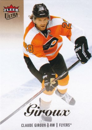 Hokejová karta Claude Giroux Fleer Ultra Showcase 13/14