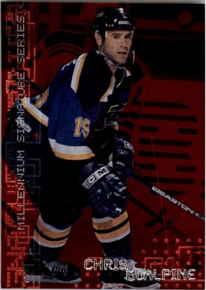 hokejová karta Chris McAlpine In the Game 1999-00 Millennium Signature Series