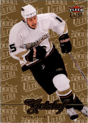 hokejová karta Ryan Getzlaf Ultra Fleer 2007-08 Gold Medallion č. 199