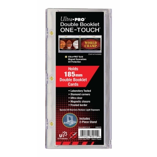 One Touch Double Booklet Card Magnetic Holder Ultra Pro