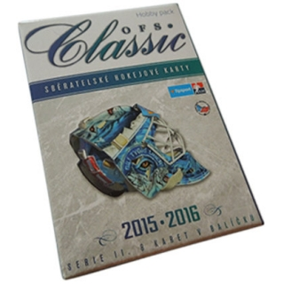 Box hokejových karet OFS Classic 2015-16 Série 2 Collector´s Box