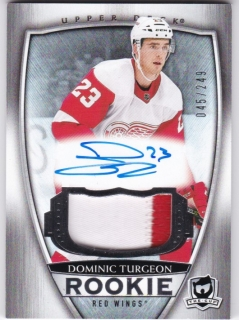 Hokejová karta Dominic Turgeon The Cup 2018-19 Rookie auto /249 č. 80