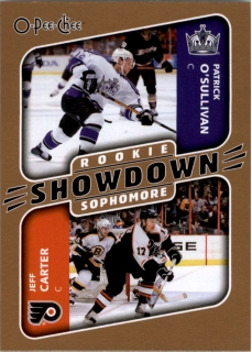 Hokejová karta Carter / O´Sullivan OPC 2006-07 RC Showdown č. 627