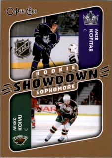 Hokejová karta Kopitar / Koivu OPC 2006-07 RC Showdown č. 636