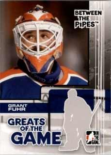 Hokejová karta Grant Fuhr ITG 2007-08 Between the Pipes č. 79