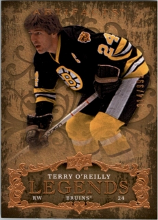 Hokejová karta Terry O'Reilly Artifacts 2008-09 Legends /999 č. 150