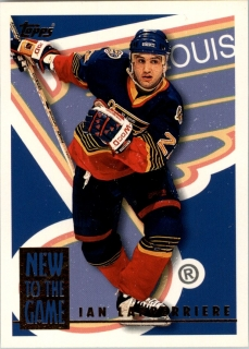 Hokejová karta Ian Lapperriere Topps 1995-96 New to the Game č. 20NG
