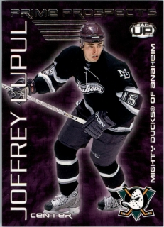 Hokejová karta Joffrey Lupul Pacific Heads Up 2003-04 Prime Prospects č. 1