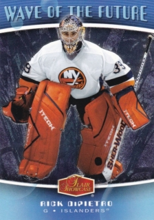 Hokejová karta Rick DiPietro Flair Showcase 2006-07 Wave of the Future č. WF26