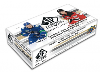Box hokejových karet UD SP Authentic 2019-20 Hobby box