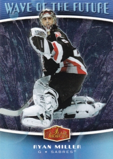 Hokejová karta Ryan Miller Flair Showcase 2006-07 Wave of the Future č. WF6