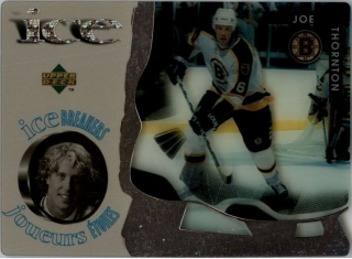 Hokejová karta Joe Thornton UD McDonald's 1997-98 Ice Breakers č. McD33