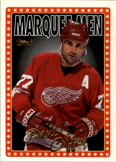 Hokejová karta Paul Coffey Topps 1995-96 Marquee Men č. 4