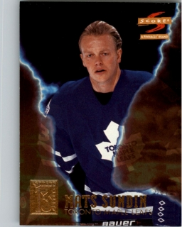 Hokejová karta Mats Sundin Pinnacle Score 1996-97 Superstitions č. 3 of 13