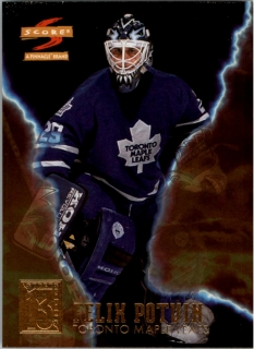 Hokejová karta Felix Potvin Pinnacle Score 1996-97 Superstitions č. 5 of 13