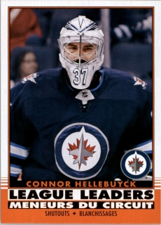 Hokejová karta Connor Hellebuyck OPC 2020-21 League Leaders Retro č. 588