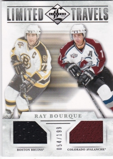 Hokejová karta Ray Bourque Panini Limited 12-13 Limited Travels /199