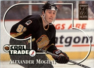 Hokejová karta Alexander Mogilny Donruss 1995-96 Cool Trade č. 19 of 20