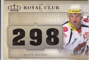 Hokejová karta David Hruška OFS Icebook Royal Club Gold