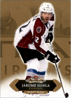 Hokejová karta Jarome Iginla Fleer Showcase 16/17 Base č. 46