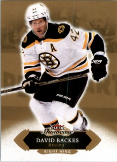 Hokejová karta David Backes Fleer Showcase 16/17 Base č. 47