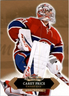 Hokejová karta Carey Price Fleer Showcase 16/17 Base č. 51