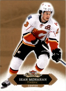 Hokejová karta Sean Monahan Fleer Showcase 16/17 base č. 60