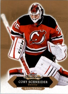 Hokejová karta Cory Schneider Fleer Showcase 16/17 Base č.66