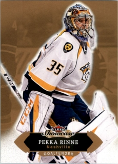 Hokejová karta Pekka Rinne Fleer Showcase 16/17 base č. 73