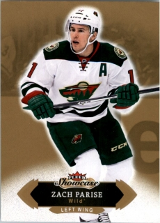 Hokejová karta Zach Parise Fleer Showcase 16/17 Base č. 76