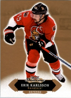 Hokejová karta Erik Karlsson Fleer Showcase 16/17 Base č. 78