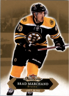 Hokejová karta Brad Marchand Fleer Showcase 16/17 Base č. 80