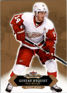Hokejová karta Gustav Nyquist Fleer Showcase 16/17 base č. 86