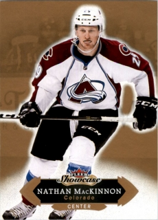 Hokejová karta Nathan MacKinnon Fleer Showcase 16/17 Base č. 87