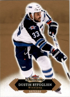 Hokejová karta Dustin Byfuglien Fleer Showcase 16/17 Base č. 90
