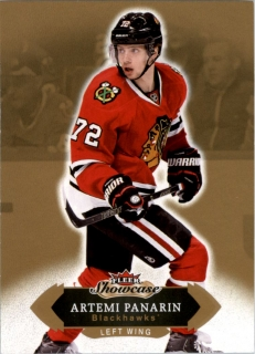 Hokejová karta Artemi Panarin Fleer Showcase 16/17 Base č. 58