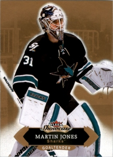 Hokejová karta Martin Jones Fleer Showcase 16/17 Base č. 99