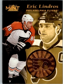 Hokejová karta Eric Lindros Pinnacle Mint Collection 1996-97 č. 3 of 30
