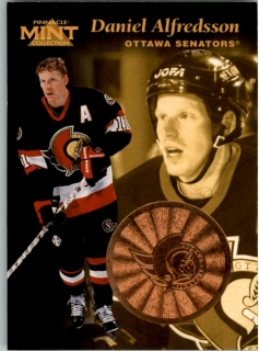 Hokejová karta Daniel Alfredsson Pinnacle Mint Collection 1996-97 č. 10 of 30