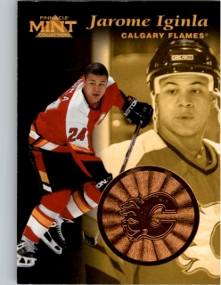 Hokejová karta Jarome Iginla Pinnacle Mint Collection 1996-97 č. 29 of 30