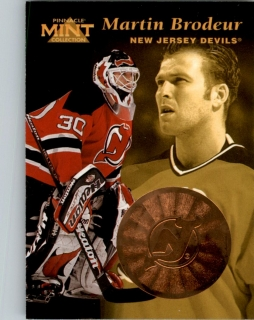 Hokejová karta Martin Brodeur Pinnacle Mint Collection 1996-97 č. 23 of 30
