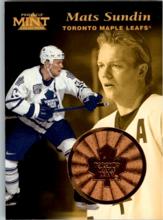 Hokejová karta Mats Sundin Pinnacle Mint Collection 1996-97 č. 17 of 30