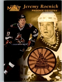 Hokejová karta Jeremy Roenick Pinnacle Mint Collection 1996-97 č. 15 of 30