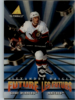 Hokejová karta Alexandre Daigle Pinnacle 1995-96 Future Game Winners 3D RC