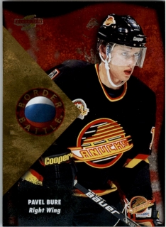 Hokejová karta Pavel Bure Pinnacle Score 1995-96 Border Battle č. 11 of 15